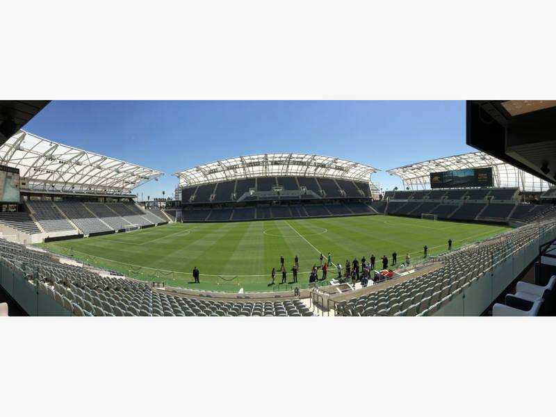 Los Angeles Football Club's Banc Of California Stadium