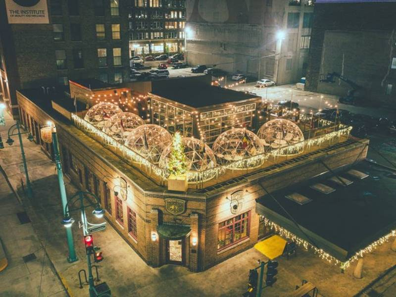 Final Lux Domes Reservations For Cafe Benelux Rooftop