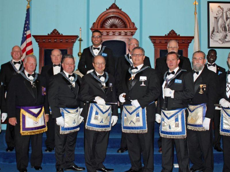 Marlboroughs United Brethren Freemason Lodge Elects New