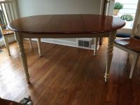 Ethan Allen Kitchen Table and Chairs for sale!! | Chatham ...