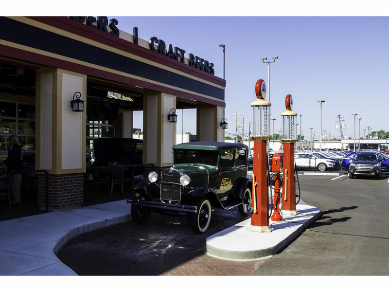Fords Garage Opens To Praise From Patrons  Patch