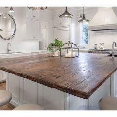 Kitchen Tops Wood Island Prep Table Endgrain Lumber Reclaimed Counter Barn Rustic Nj Ny
