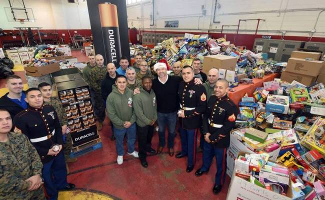 Dearborn Collecting Toys For Tots Donations Dearborn Mi