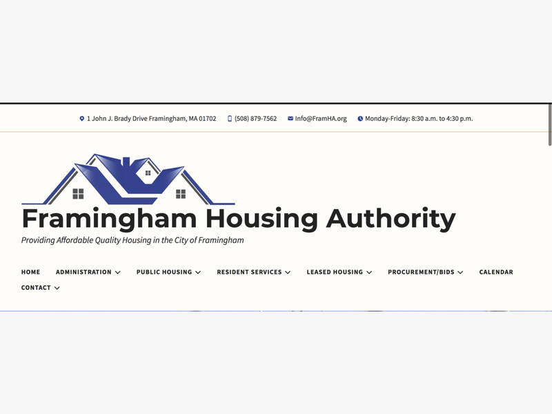 Framingham Housing Authority Revamps Its Online Presence
