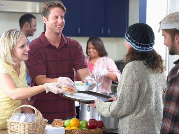 Soup Kitchen Volunteer Thanksgiving Denver  Dandk Organizer