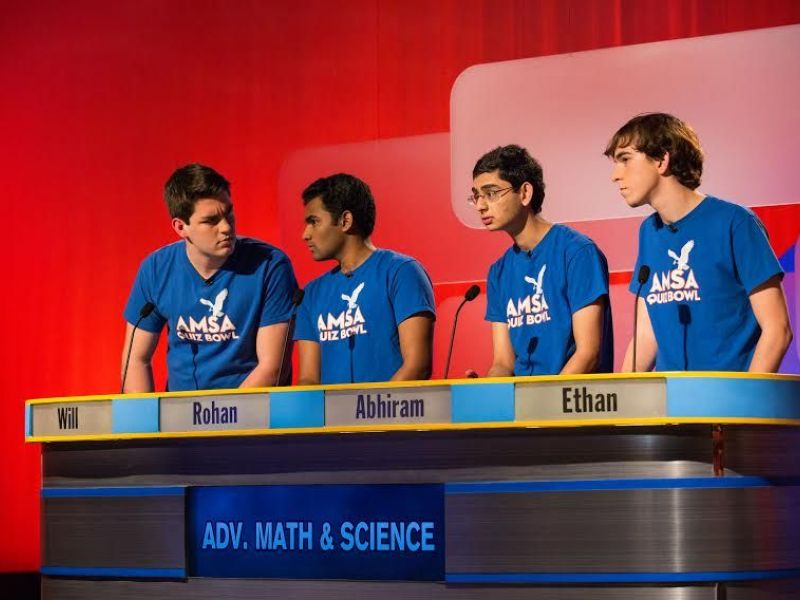 Advanced Math and Science Academy Battles For Quiz Show