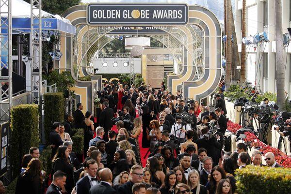 Участники премии Золотой глобус в Беверли-Хиллз. 6 января 2019