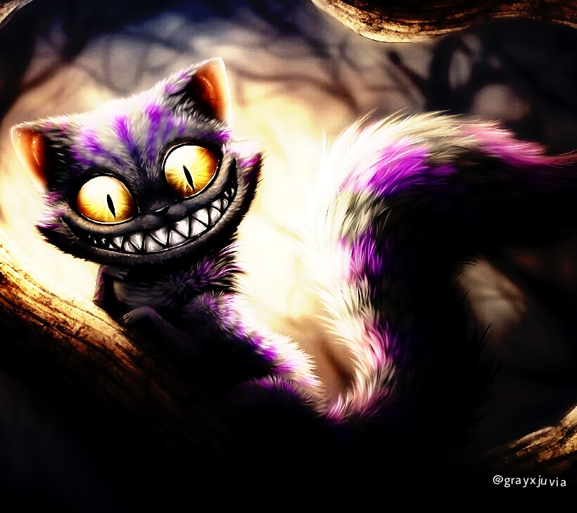 creepy cheshire cat