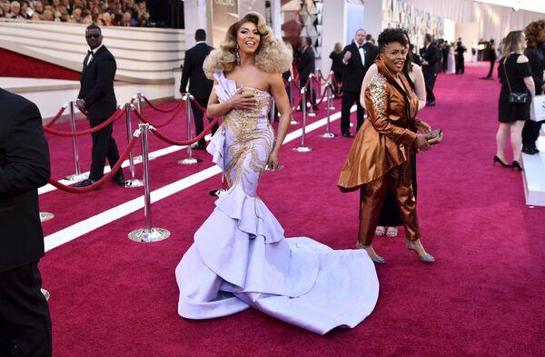 Американская звезда Shangela на церемонии вручения премии Оскар