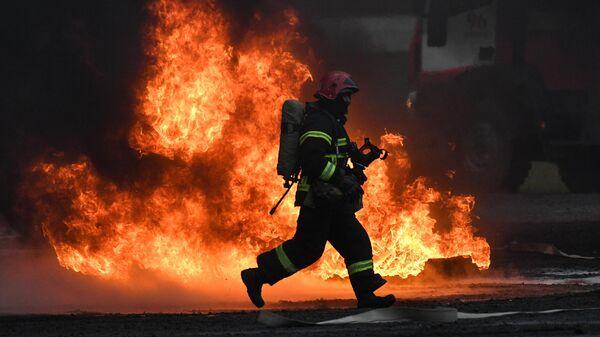 В Набережных Челнах один человек пострадал при пожаре на фабрике