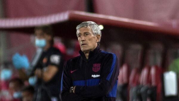"""""""Барселона"""" подтвердила отставку Сетьена с поста главного тренера"""