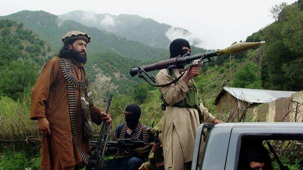 Members of the Taliban in South Waziristan, Pakistan