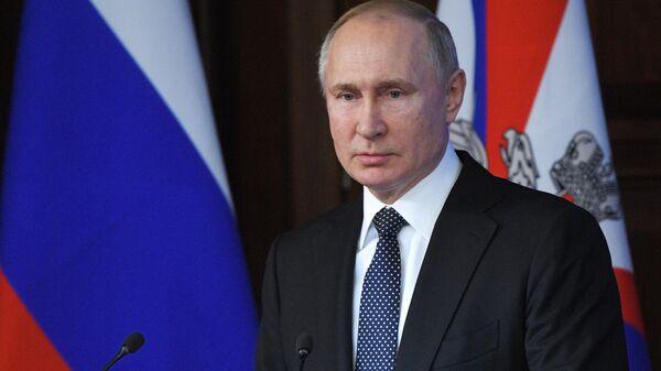 Путин в среду встретится с представителями российских деловых кругов