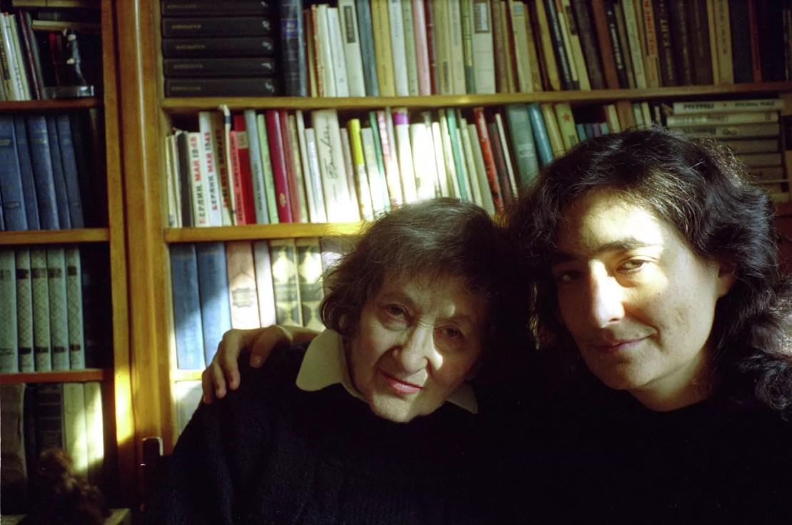 Елена Ржевская и Любовь Сумм. Фото из личного архива Е. Ржевской