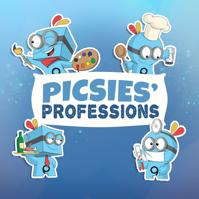 Picsies Professions Clipart Package Arrives In The