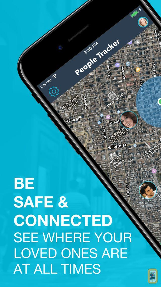 People Tracker - GPS Locator for iPhone & iPad - App Info & Stats | iOSnoops