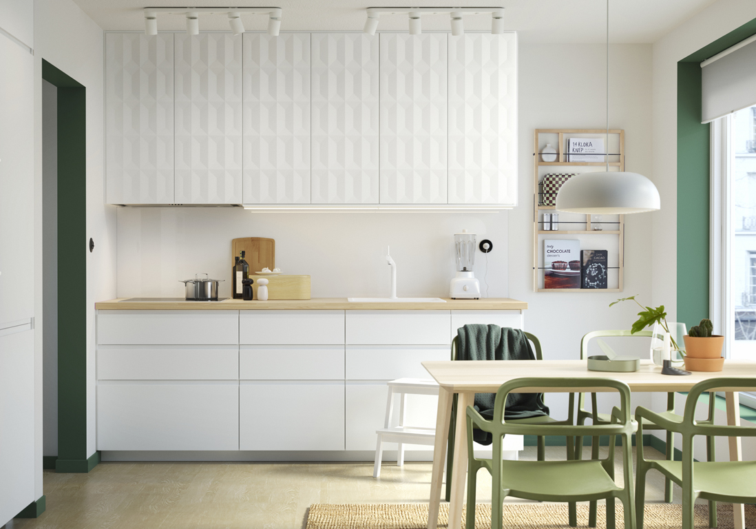 Cuisine Ikea  nos modles de cuisines prfrs  Elle Dcoration