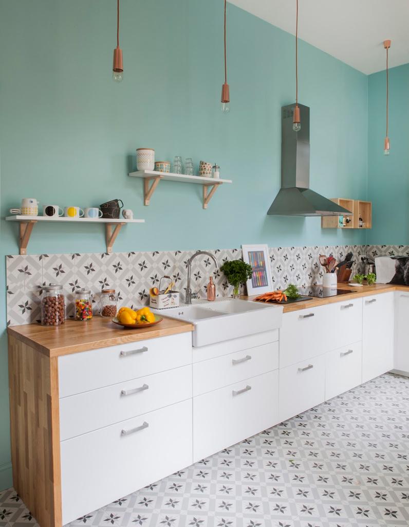 Nos ides pour amnager une belle cuisine vintage Elle