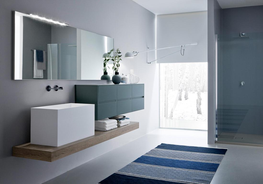 Dcouvrez les plus belles salles de bains bleues  Elle