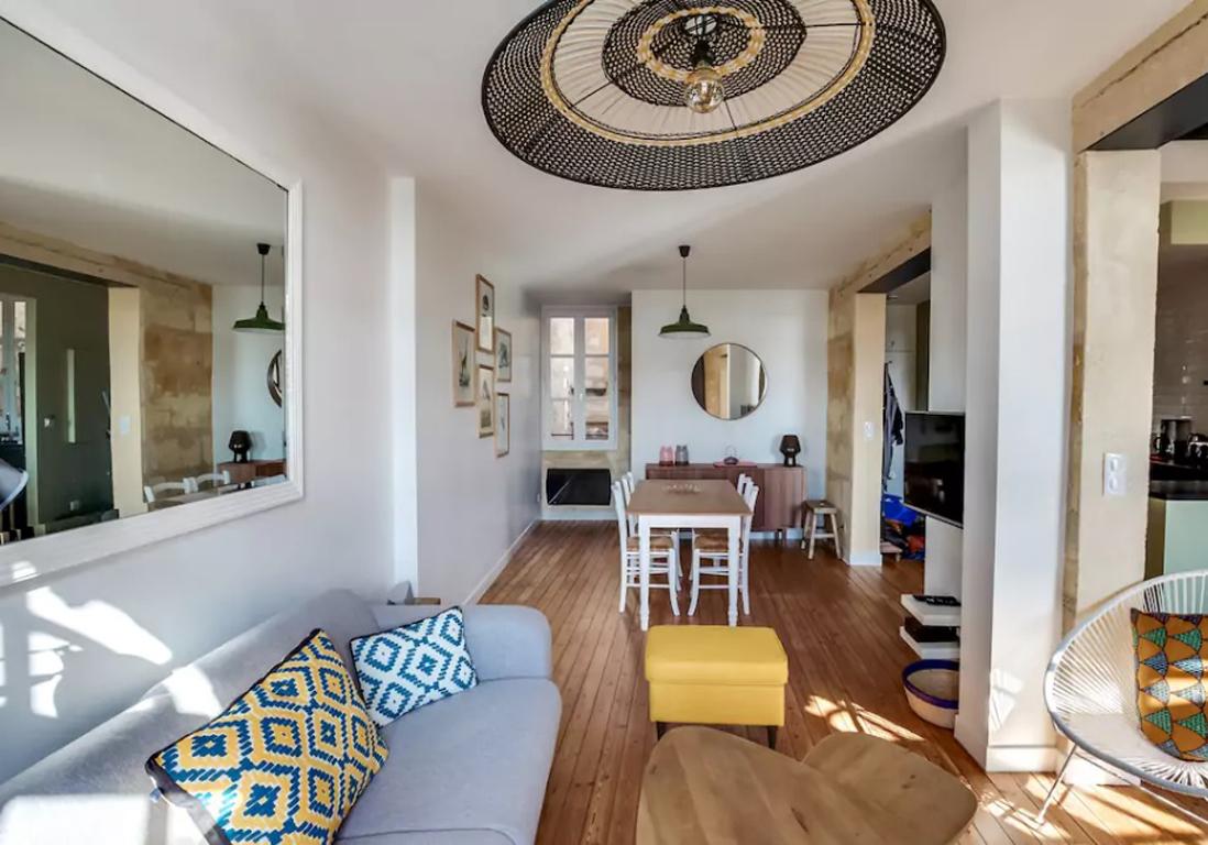 Airbnb Bordeaux  30 villas lofts et appartements de rve  louer  Bordeaux  Elle Dcoration