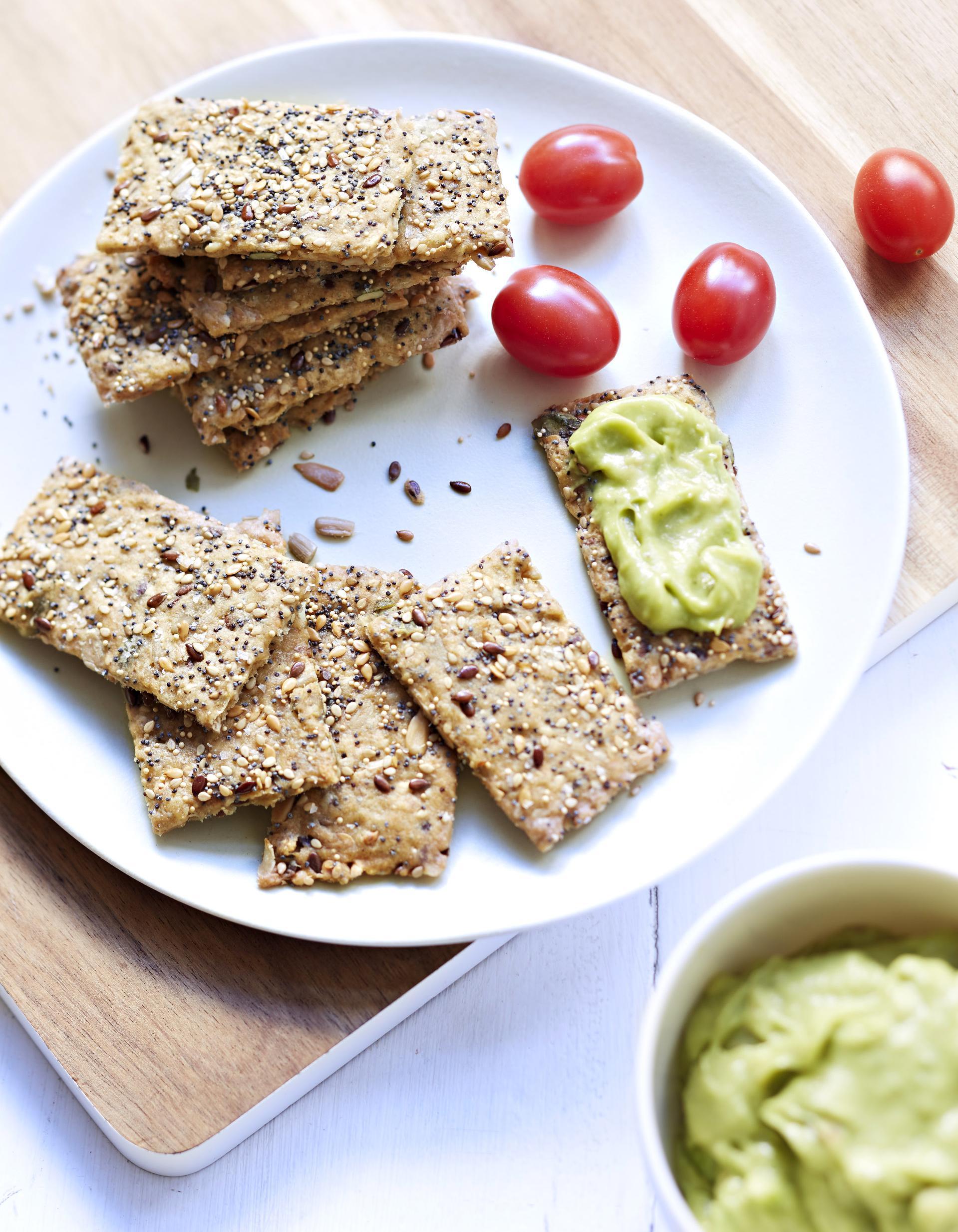 Crackers Aux Graines Pour 8 Personnes Recettes Elle Table