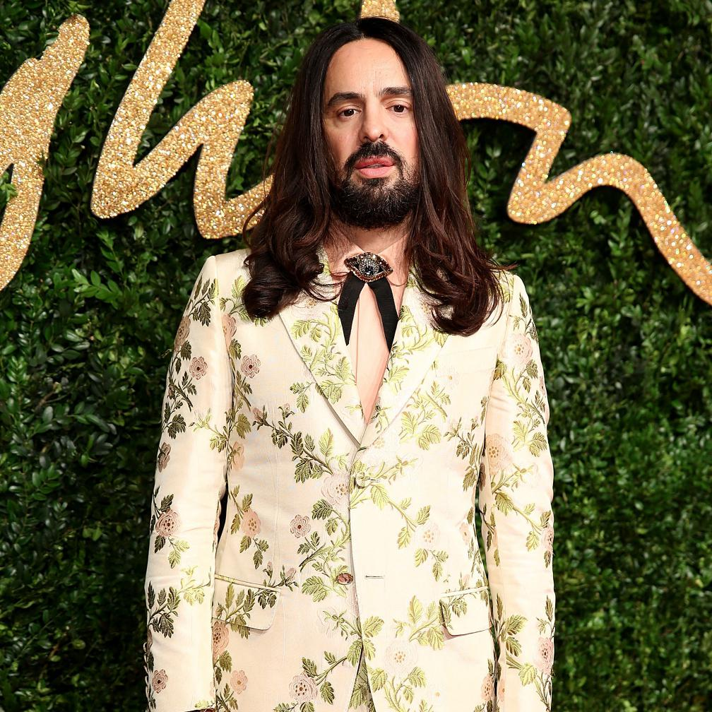 Gucci Alessandro Michele Lhonneur Des CFDA Awards Elle
