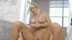 Chesty Cougartylo Duran Gets Her Pussy Plowed Hard By Big Cock Of Construction Guy Additional Information Tags Images From The Porn Video