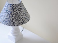 DIY: How To Make a Lampshade Cover