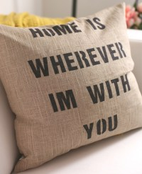 DIY: Quote Pillows