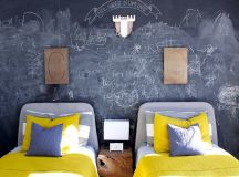 How To Add a Chalkboard Wall to Your Kid's Room