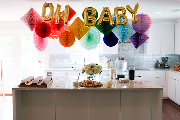 stylish baby sprinkle ideas