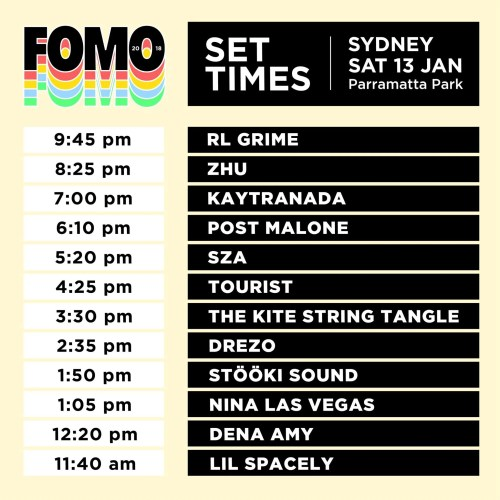 small resolution of fomo 2018 set times