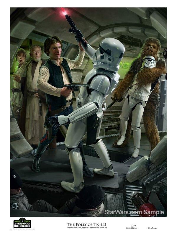 Chris Trevas Star Wars Celebration Art