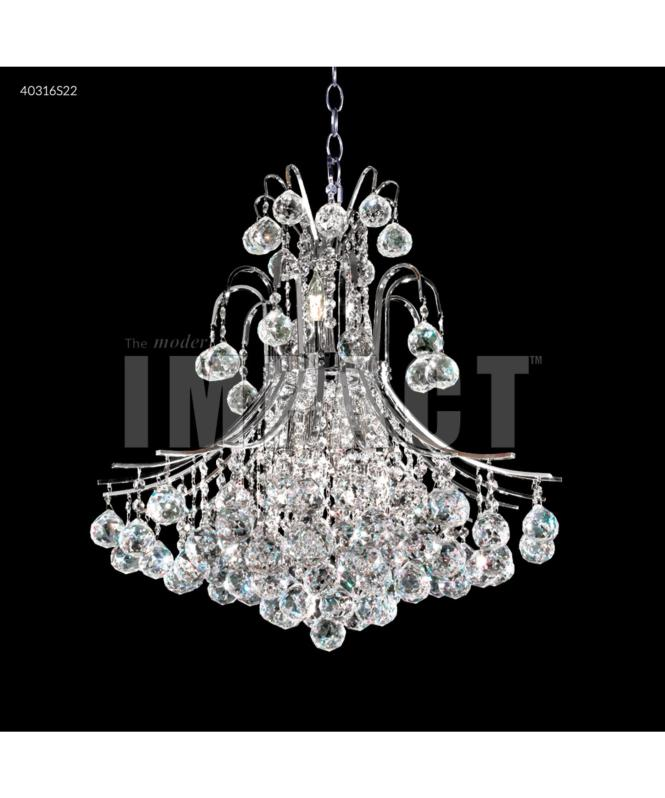 Shown In Silver Finish And Imperial Clear Crystal