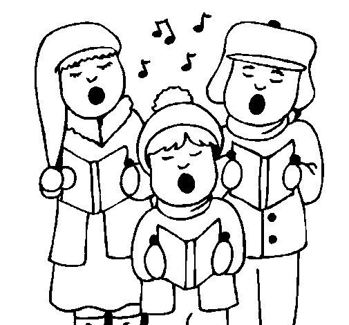 Disegno di Canzoni di Natale da Colorare