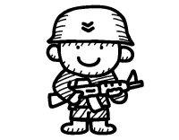 Disegno di Soldatino da Colorare - Acolore.com