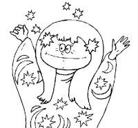 Disegno di Strega bonacciona da Colorare - Acolore.com