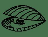 Disegni Da Colorare Molluschi Stampabile Gratuito Per