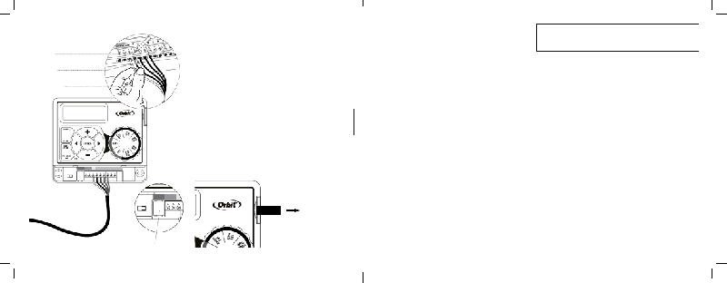 Orbit Easy Dial 57876 Timer Operation & user's manual PDF