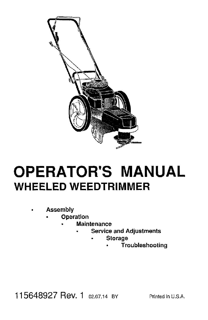 Husqvarna HU625HWT Trimmer Operator's manual PDF View/Download