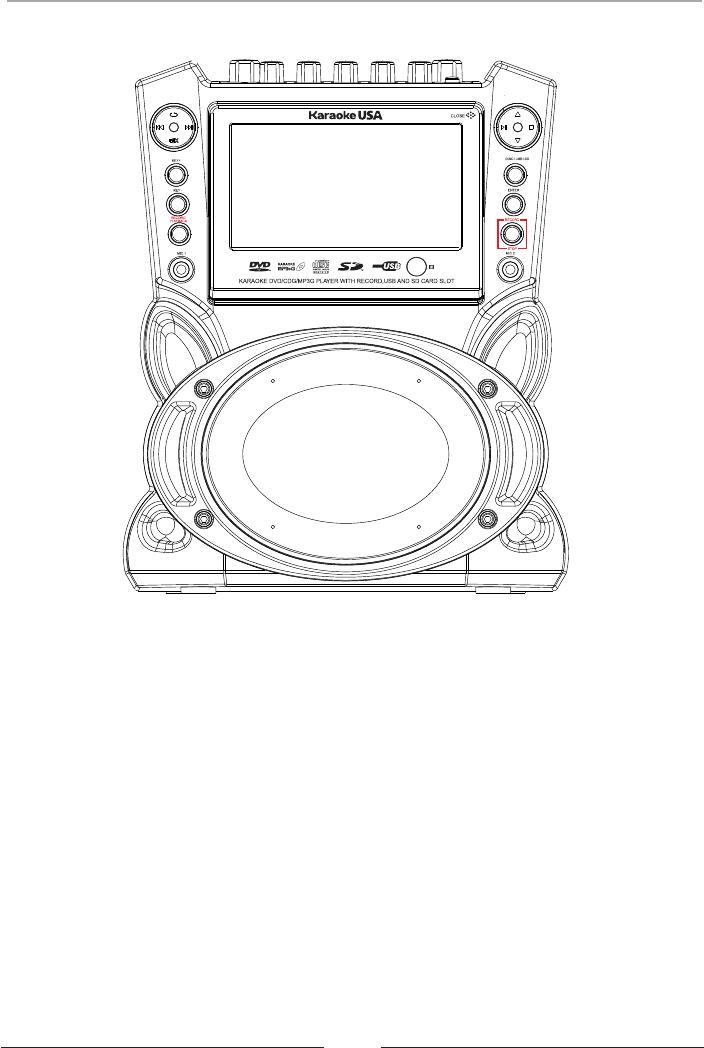 Karaoke USA GF839 Karaoke System Operation & user's manual