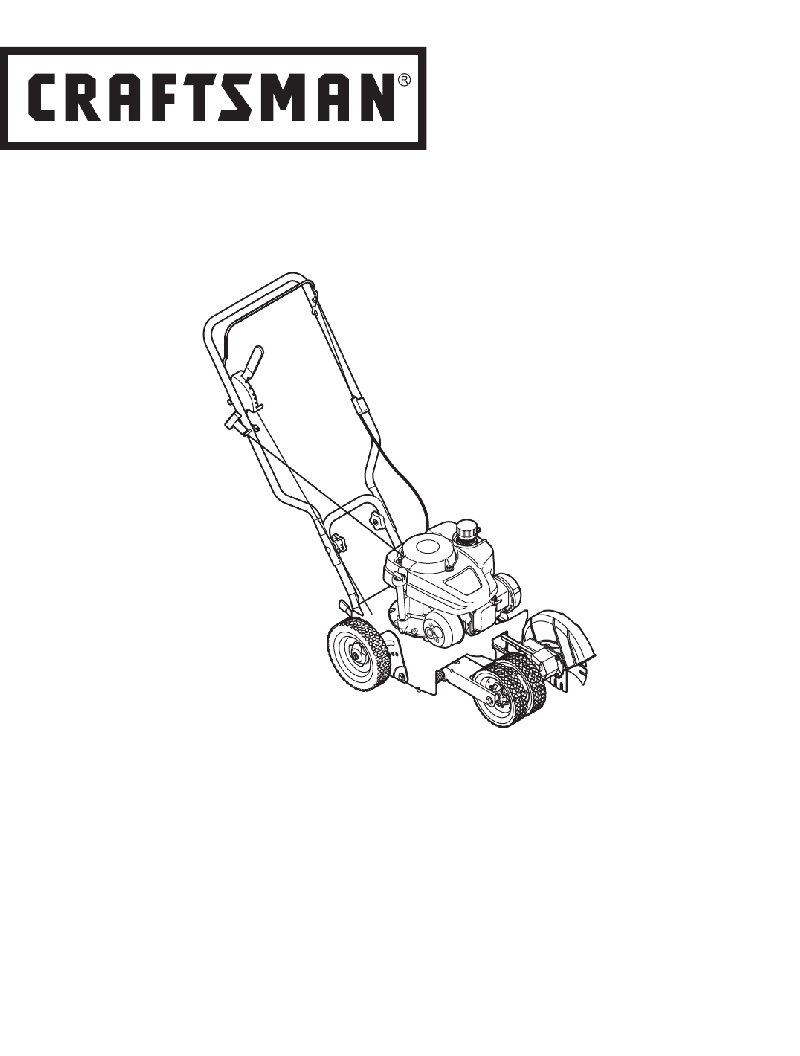 Craftsman 247.762660 Trimmer Operator's manual PDF View