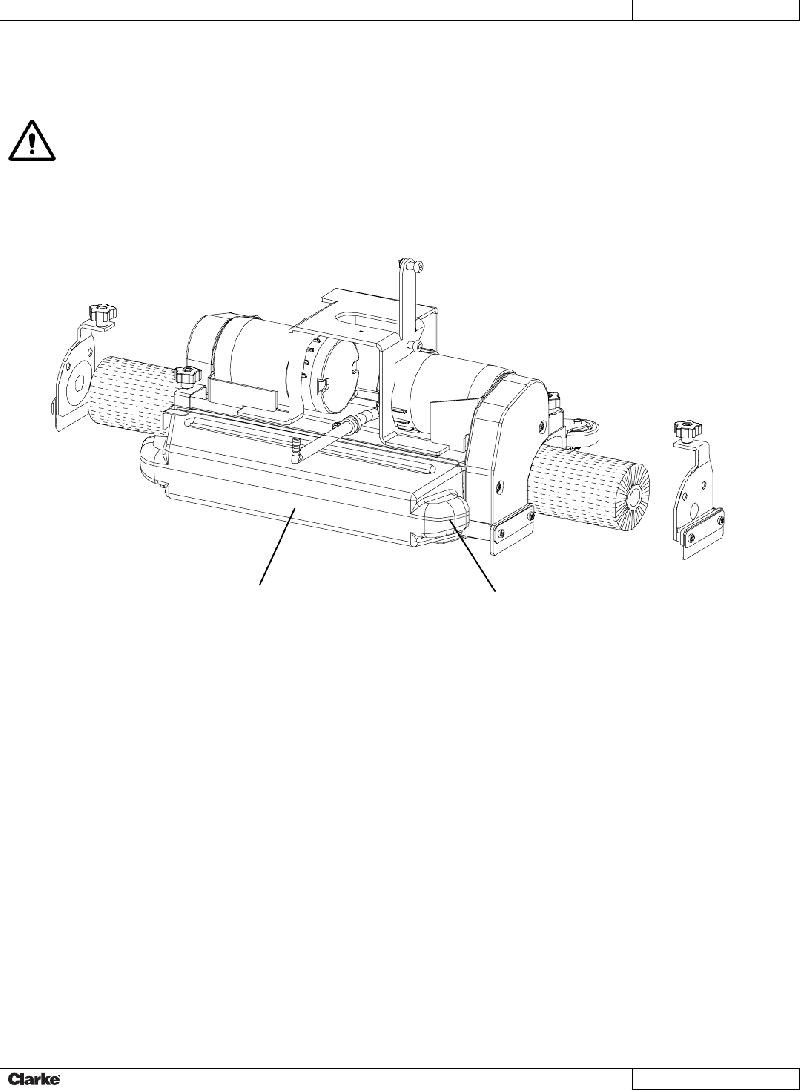 Clarke FOCUS II S20 Scrubber Service manual PDF View