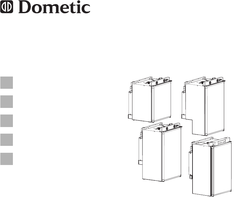 Dometic RM5385 Refrigerator Installation manual PDF View