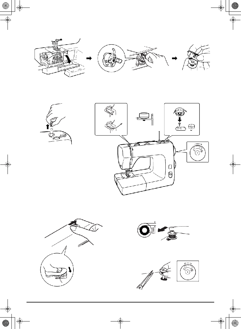 Toyota RS2000-3D Sewing Machine Instruction manual PDF