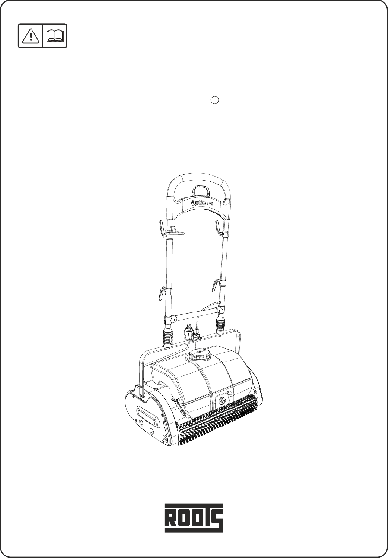 ROOTS Smart Care Trio Vacuum Cleaner Operator's manual PDF