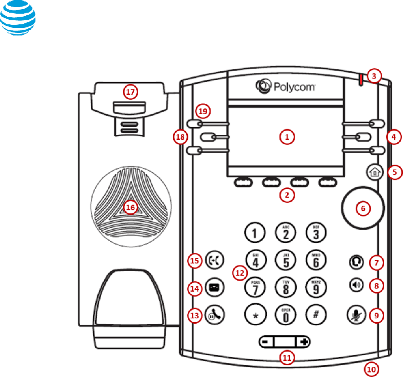 Polycom VVX 411 Telephone Quick reference manual PDF View