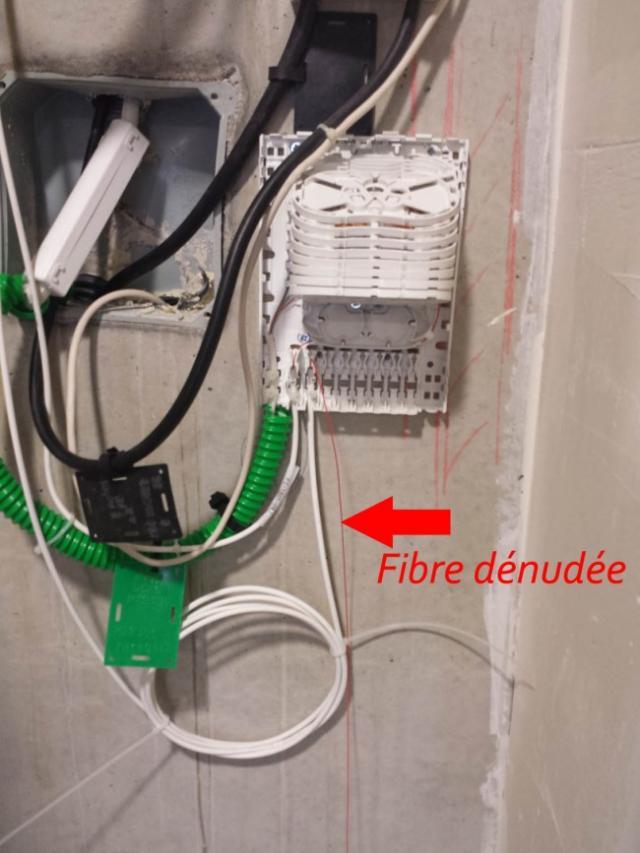 Installation fibre optique appartement  Astuces Pratiques