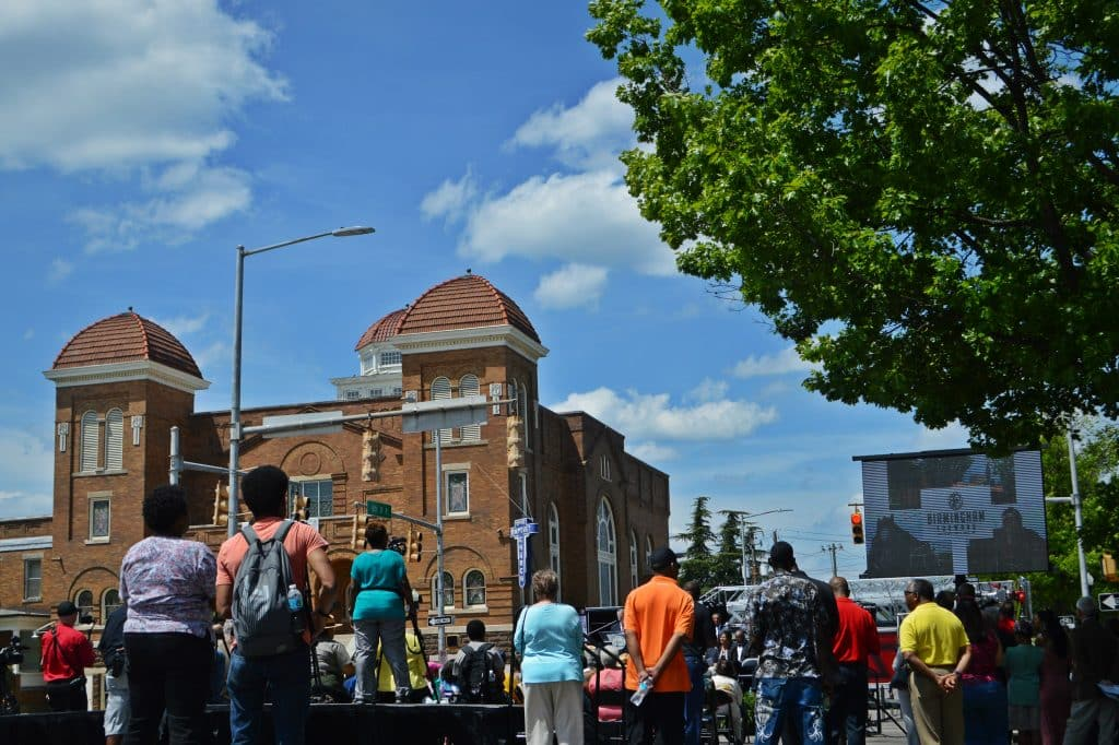 Birmingham's Historic 16th Street Baptist Church along with Civil Rights sites statewide secure Park Service grants