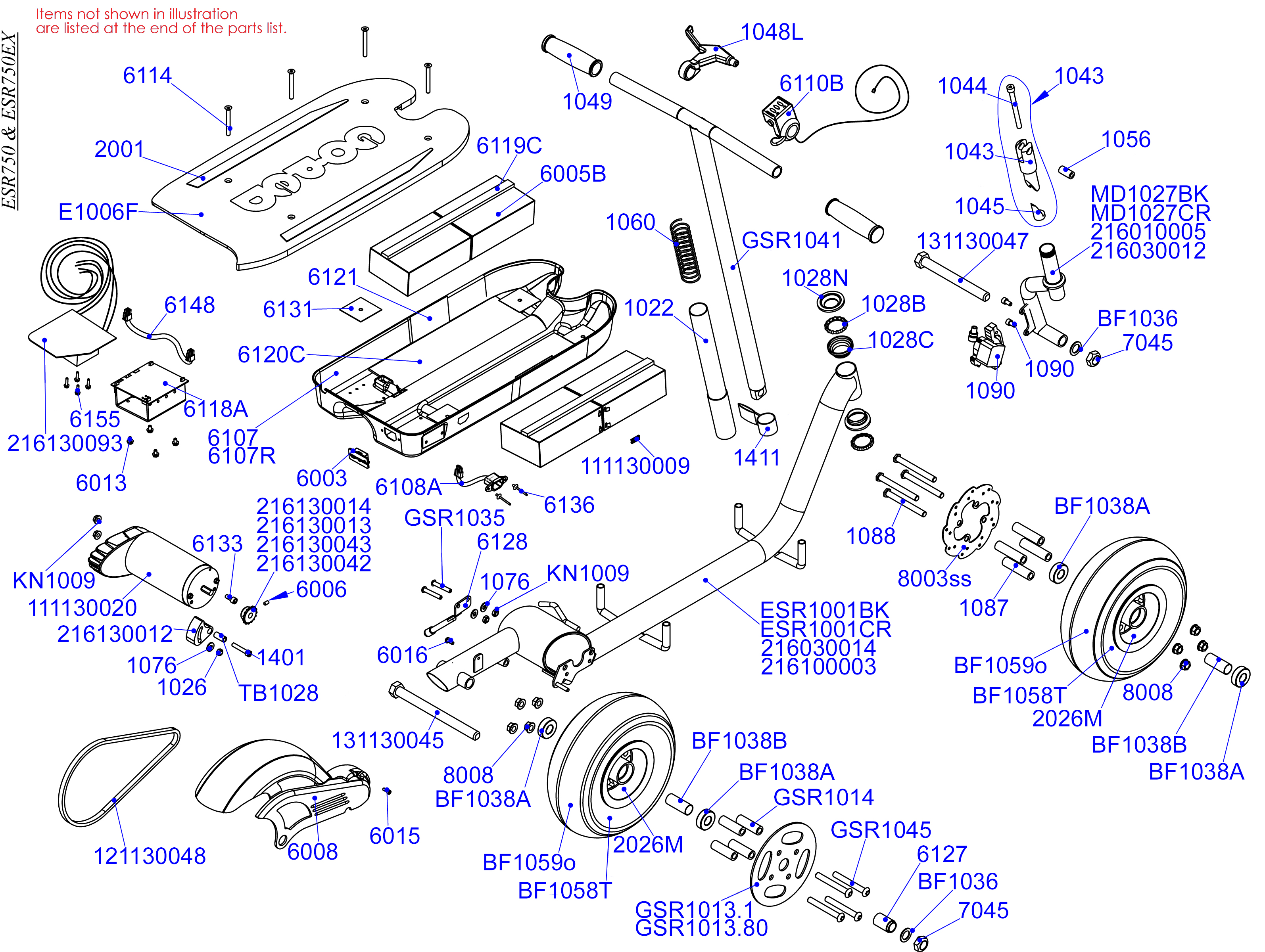 electric scooter battery wiring diagram my sentence online parts esr 750 goped